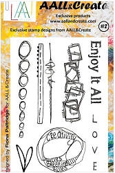 AALL & Create - Clear Stamp A6 size - Set #2