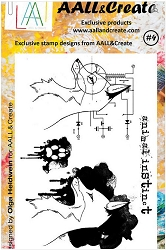 AALL & Create - Clear Stamp A6 size - Set #4