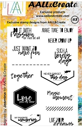 AALL & Create - Clear Stamp A6 size - Set #8
