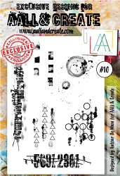 AALL & Create - Clear Stamp A6 size - Set #10