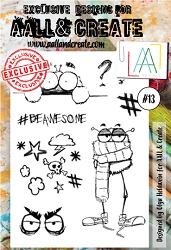 AALL & Create - Clear Stamp A6 size - Set #13
