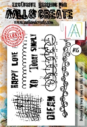 AALL & Create - Clear Stamp A6 size - Set #15