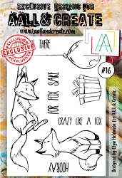AALL & Create - Clear Stamp A6 size - Set #16