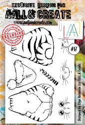 AALL & Create - Clear Stamp A6 size - Set #17