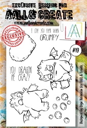 AALL & Create - Clear Stamp A6 size - Set #19