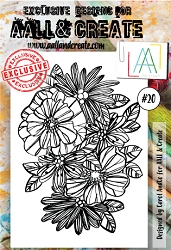 AALL & Create - Clear Stamp A6 size - Set #20