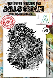 AALL & Create - Clear Stamp A6 size - Set #21