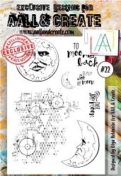 AALL & Create - Clear Stamp A6 size - Set #22