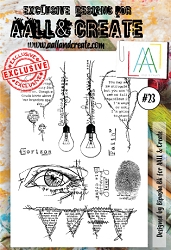 AALL & Create - Clear Stamp A6 size - Set #23
