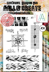 AALL & Create - Clear Stamp A6 size - Set #24