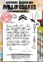 AALL & Create - Clear Stamp A6 size - Set #25