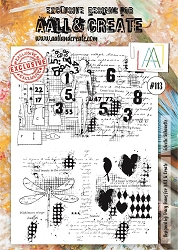 AALL & Create - Clear Stamp A4 size - Set #113 Eclectic Silhouette