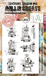 AALL & Create - Clear Stamp A6 size - Set #122 Chess Pieces