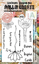AALL & Create - Clear Stamp A6 size - Set #123 Blossomed Dreams