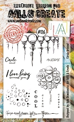 AALL & Create - Clear Stamp A6 size - Set #126 Circle Around