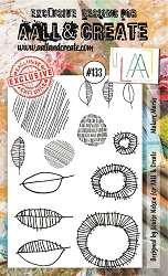 AALL & Create - Clear Stamp A6 size - Set #133 Makers Marks