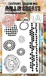 AALL & Create - Clear Stamp A6 size - Set #134 Dot Matrix