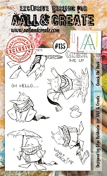 AALL & Create - Clear Stamp A6 size - Set #135 Quack the Duck