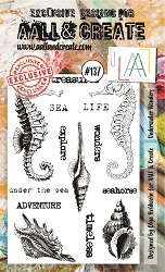 AALL & Create - Clear Stamp A6 size - Set #137 Underwater Wonders
