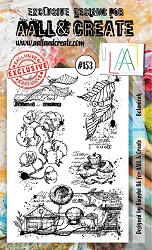 AALL & Create - Clear Stamp A6 size - Set #153 Botanicals