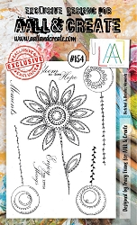 AALL & Create - Clear Stamp A6 size - Set #154 Sketched & Doodled Moments