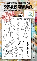 AALL & Create - Clear Stamp A6 size - Set #157 Bad Bears