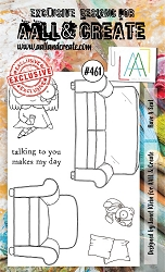 AALL & Create - Clear Stamp A6 size - Set #461 Have a Seat