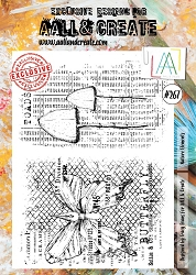 AALL & Create - Clear Stamp A4 size - Set #267 Nature Elements