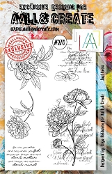 AALL & Create - Clear Stamp A5 Size - Set #270 Just Grow