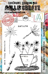 AALL & Create - Clear Stamp A5 Size - Set #271 Cupful of Wishes