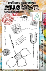 AALL & Create - Clear Stamp A5 Size - Set #272 Thankful Petals