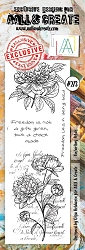 AALL & Create - Clear Stamp Border - Set #273 Unfurling Petals