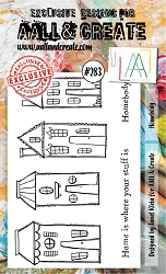 AALL & Create - Clear Stamp A6 Size - Set #283 Homebody