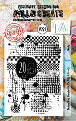 AALL & Create - Clear Stamp Small - Set #291 Checks