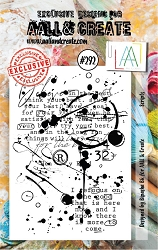 AALL & Create - Clear Stamp Small - Set #292 Scripts