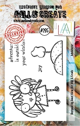 AALL & Create - Clear Stamp Small - Set #295 Adventurer