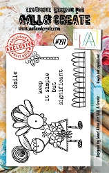 AALL & Create - Clear Stamp Small - Set #297 Simple but Significant