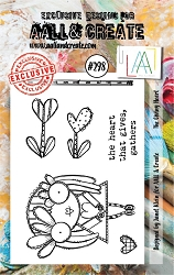 AALL & Create - Clear Stamp Small - Set #298 The Giving Heart