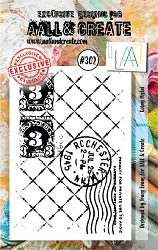 AALL & Create - Clear Stamp Small - Set #302 Going Postal