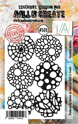 AALL & Create - Clear Stamp Small - Set #308 Knobbly Bobbles