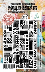 AALL & Create - Clear Stamp Small - Set #312 Mini Tribal
