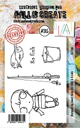 AALL & Create - Clear Stamp Small - Set #315 Go Fish