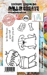 AALL & Create - Clear Stamp Small - Set #316 Oh Boy