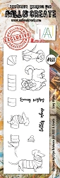AALL & Create - Clear Stamp Border - Set #168 Long Wishes