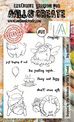AALL & Create - Clear Stamp A6 size - Set #170 Dog Attitude
