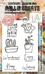 AALL & Create - Clear Stamp A6 size - Set #178 Garden Cuttings