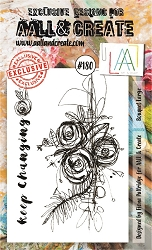 AALL & Create - Clear Stamp A6 size - Set #180 Bouquet Large