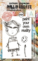 AALL & Create - Clear Stamp A7 size - Set #184 Little Frida