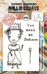 AALL & Create - Clear Stamp A7 size - Set #190 Princess