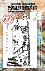 AALL & Create - Clear Stamp A7 size - Set #191 House Set 1